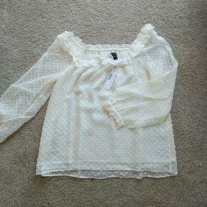 Jcrew blouse nwt